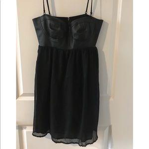 Billabong 'Strapless Black Bustier' Dress